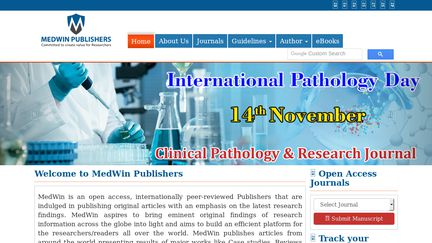 Medwin Publishers Reviews - 1 Review of Medwinpublishers com