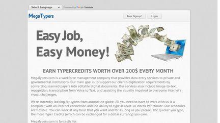 MegaTypers Reviews - 40 Reviews of Megatypers com | Sitejabber