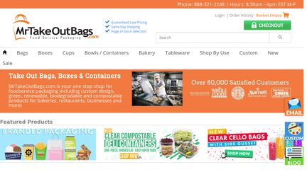 Mrtakeoutbags Reviews 5 691 Of