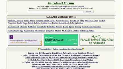 Nairaland Reviews - 2 Reviews of Nairaland com   Sitejabber
