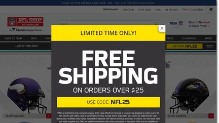 best website 22046 89908 NFL Shop Reviews - 421 Reviews of Nflshop.com | Sitejabber