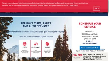 Pep Boys Store Hours >> Pepboys Reviews 86 Reviews Of Pepboys Com Sitejabber
