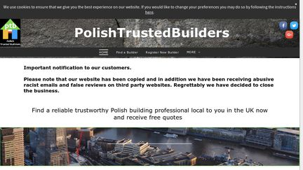 Polish Trusted Builders Reviews - 4 Reviews of