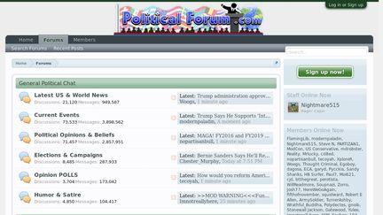 PoliticalForum Reviews - 14 Reviews of Politicalforum com | Sitejabber