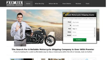 Premier Motorcycle Transport Reviews - 318 Reviews of