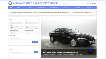 Cars Com Reviews >> Private Used Car Reviews 1 Review Of Private Used Car Com