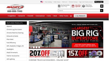 Raney's Truck Parts Reviews - 61,406 Reviews of