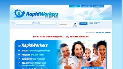 RapidWorkers Reviews - 9 Reviews of Rapidworkers com | Sitejabber