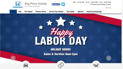 Ray Price Honda >> Ray Price Honda Reviews 1 Review Of Raypricehonda Com