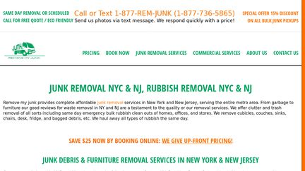 Junk Removal Services Reviews - 1 Review of Removemyjunk us