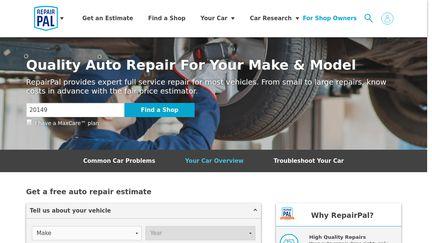 Instant Auto Repair Estimates Free Online Estimator