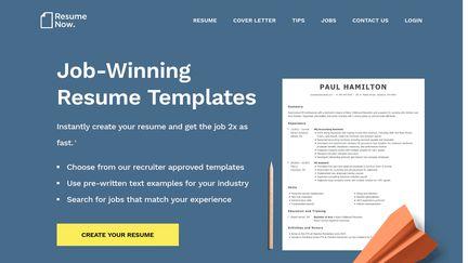 Resume Now Reviews 1 789 Reviews Of Resume Now Com