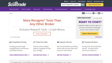 Option trading with scottrade