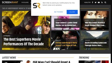 ScreenRant Reviews - 25 Reviews of Screenrant.com | Sitejabber