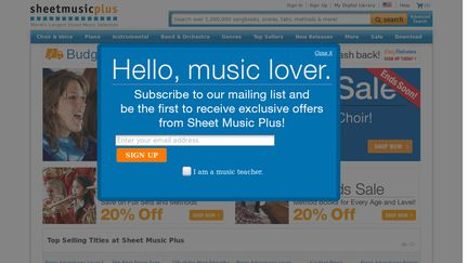 SheetMusicPlus Reviews - 13 Reviews of Sheetmusicplus com