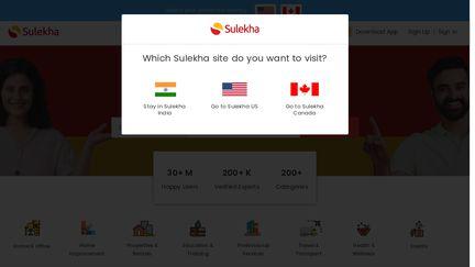 Sulekha com Reviews - 13 Reviews of Sulekha com   Sitejabber
