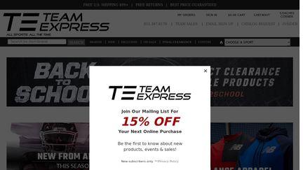09f3c9cda83 TeamExpress Reviews - 66 Reviews of Teamexpress.com | Sitejabber