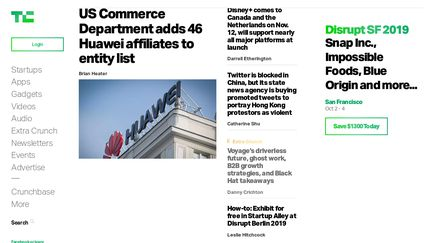 TechCrunch Reviews - 18 Reviews of Techcrunch com | Sitejabber