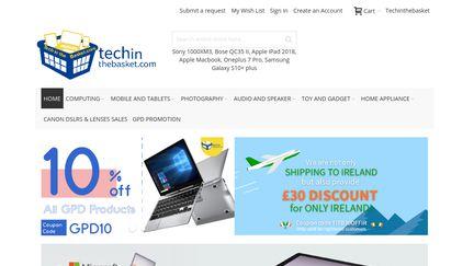 TechInTheBasket Reviews - 38 Reviews of Techinthebasket com