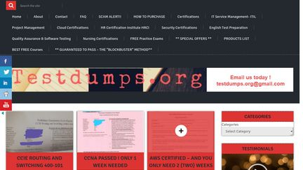 Testdumps org Reviews - 19 Reviews of Testdumps org   Sitejabber