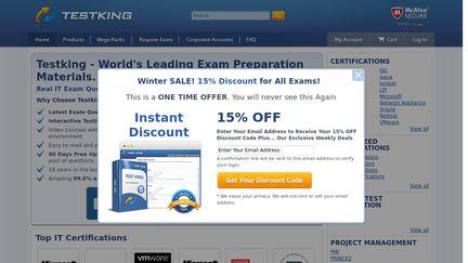 TestKing Reviews - 91 Reviews of Testking com | Sitejabber