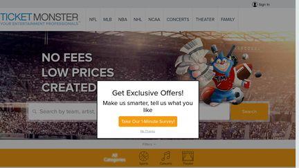 TicketMonster Reviews - 19 Reviews of Ticketmonster com