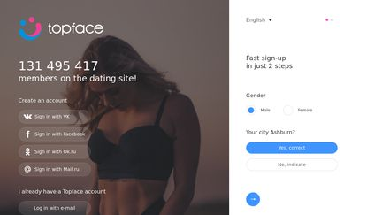 Topface dating type liked videos