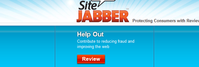 Report fraud and scams on SiteJabber