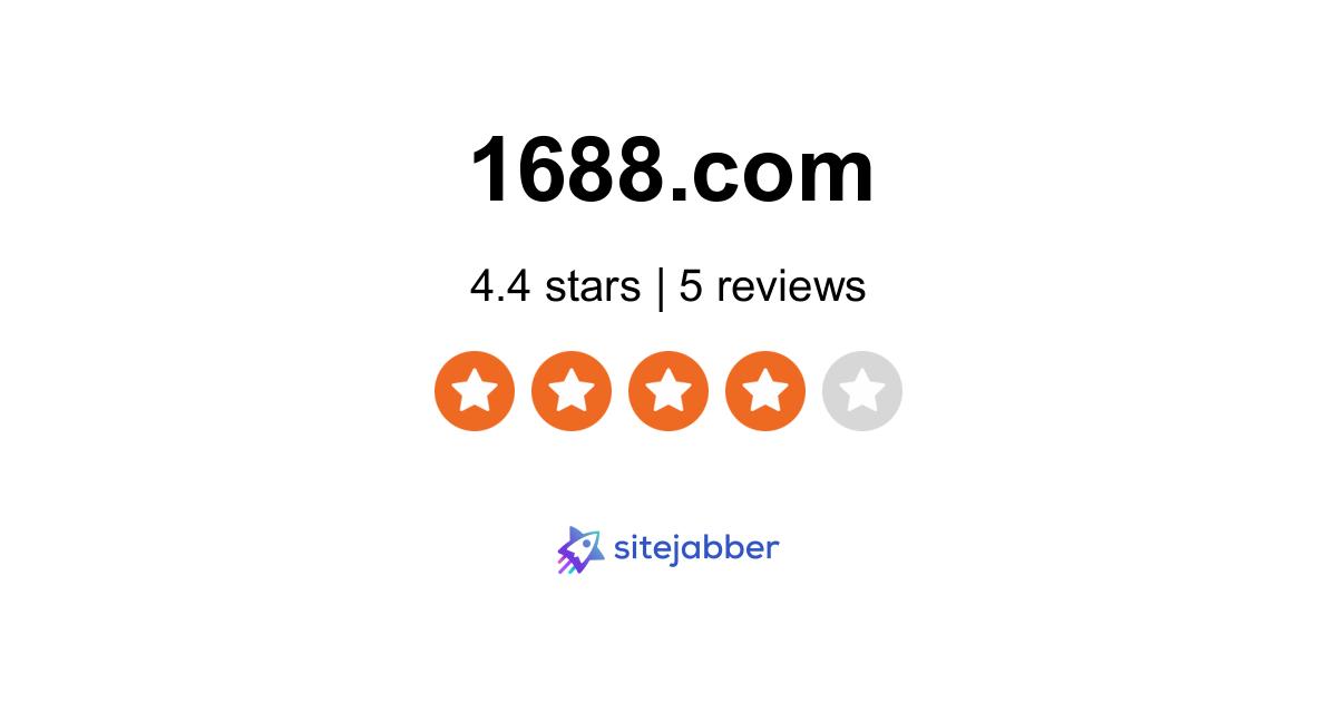 1688 Reviews - 5 Reviews of 1688.com | Sitejabber