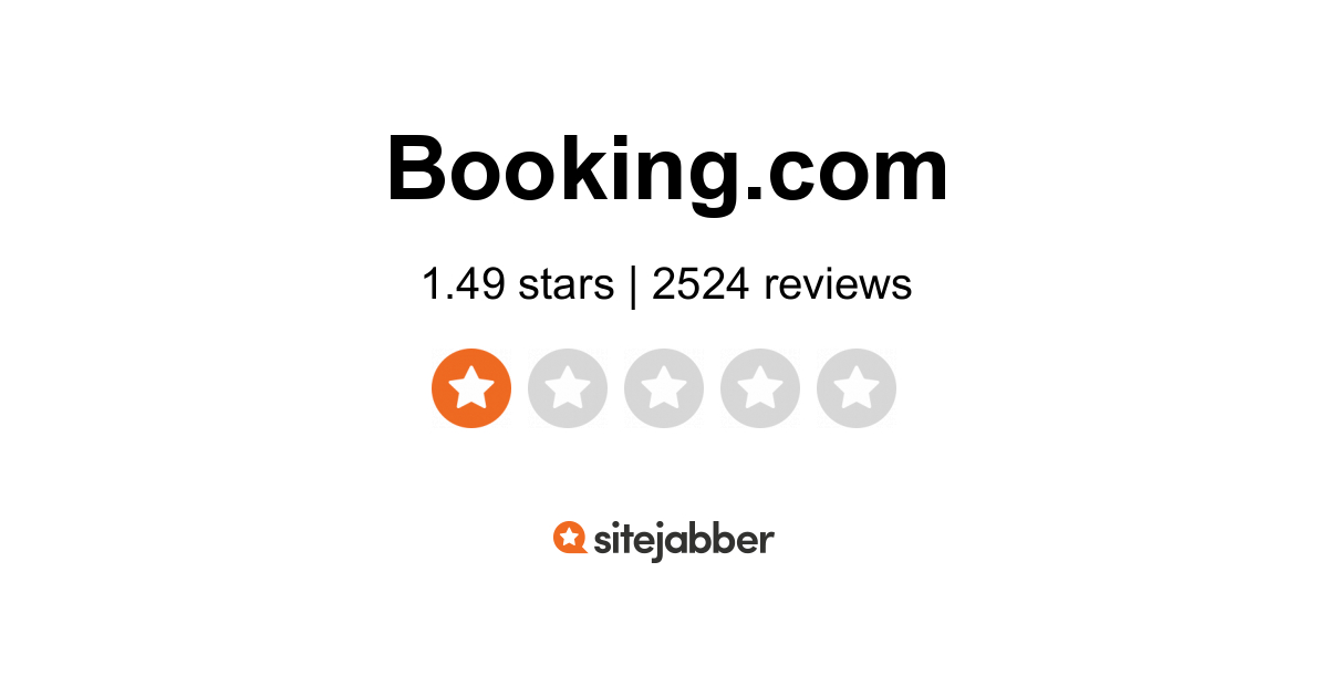 Rating Booking.Com Booking Accommodations