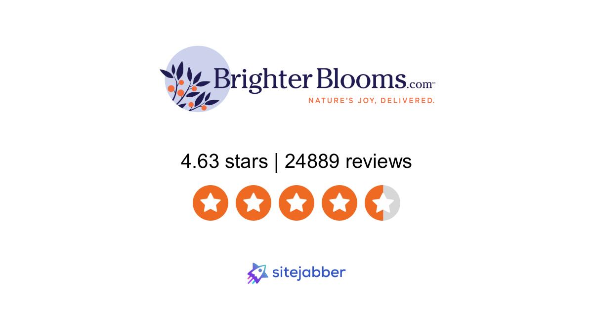 Brighterblooms Com Reviews 8 347 Reviews Of Brighterblooms Com Sitejabber