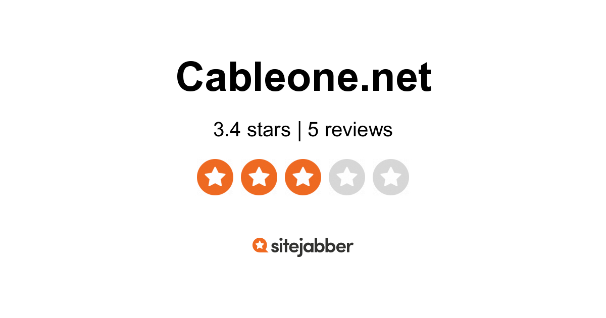 www.cableone.net myservices