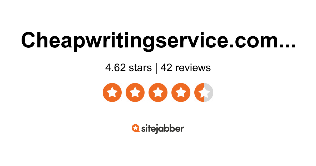 Cheapest writing services