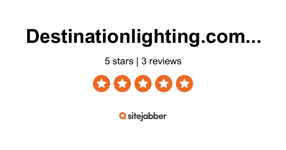 Destination Lighting Reviews 2