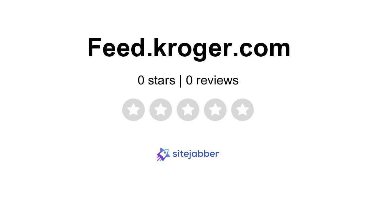 kroger feed