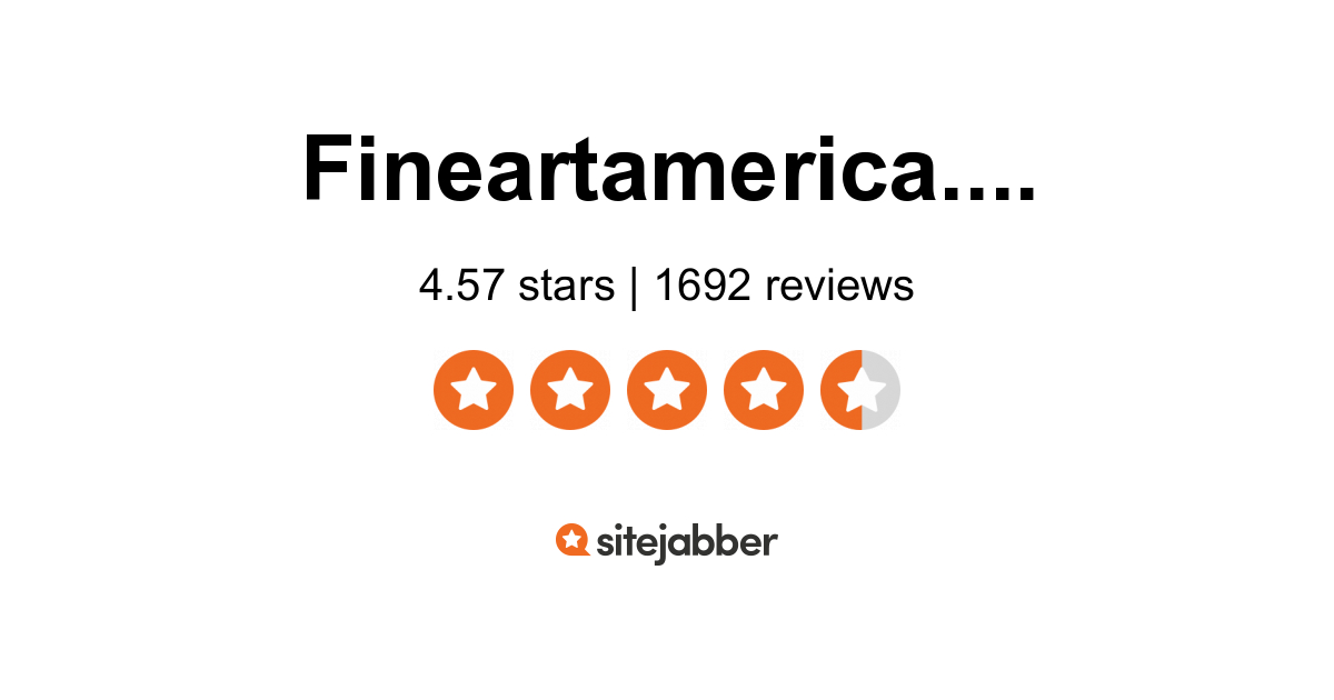 selling on fine art america review
