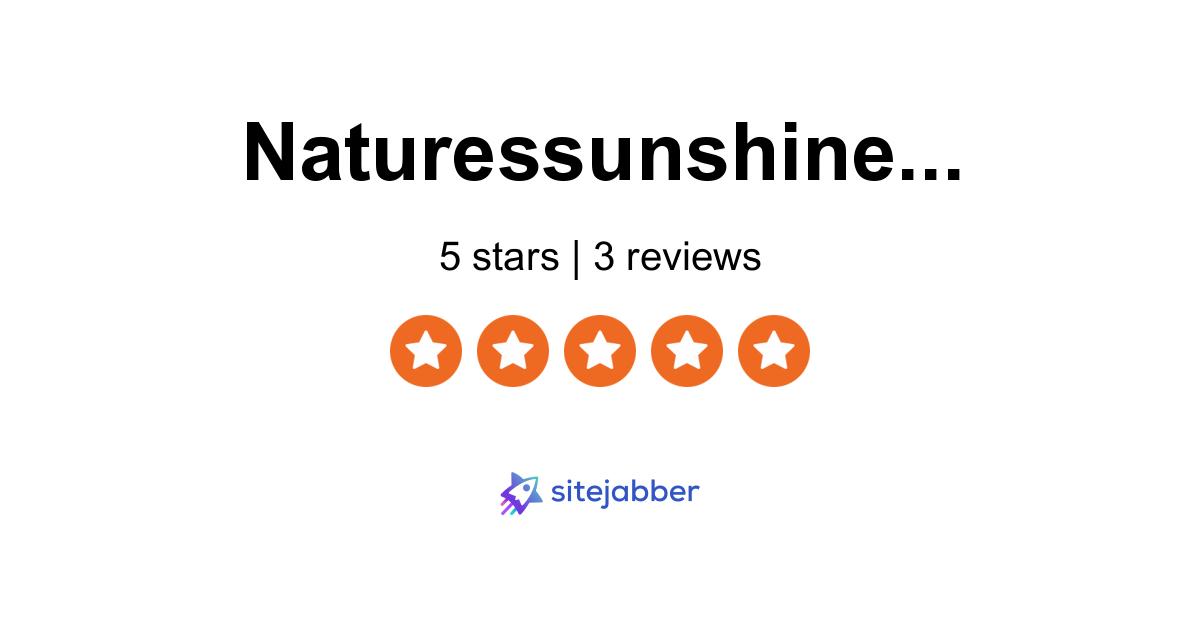 nature s sunshine pierdere în greutate recenzii)