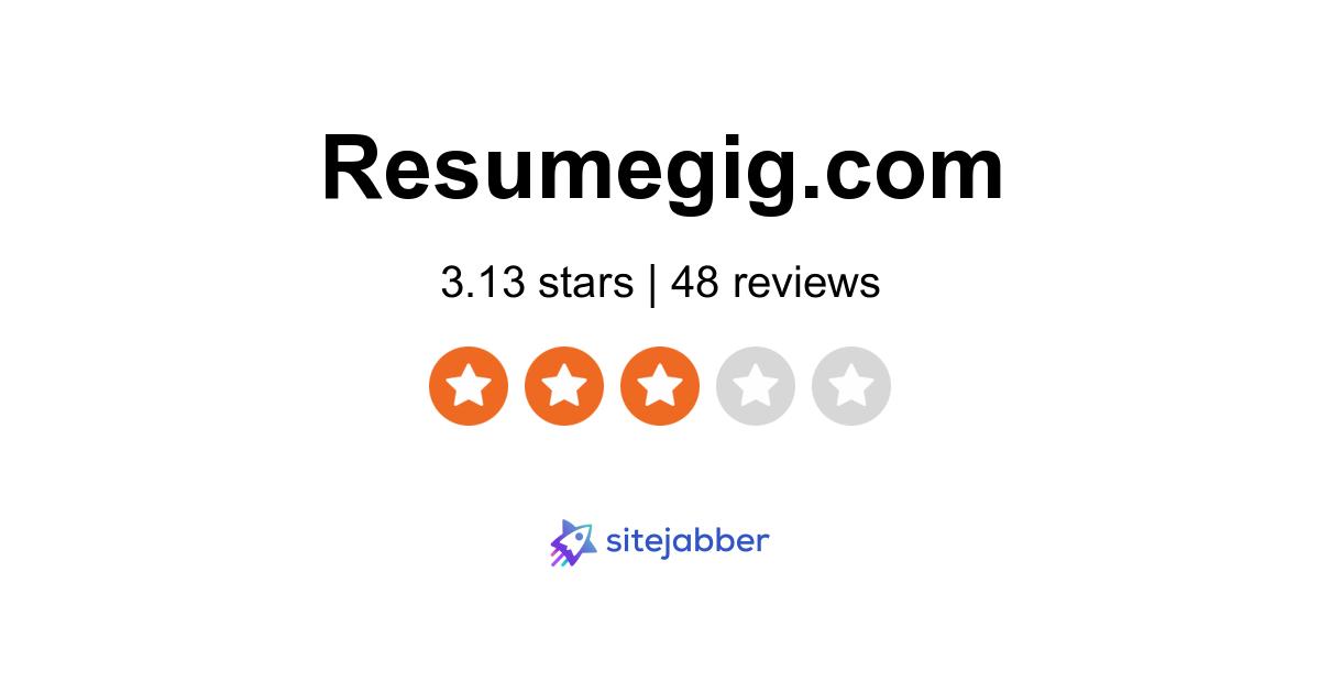 resumegig reviews