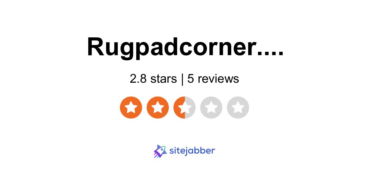 RugPad Corner Reviews - 5 Reviews of