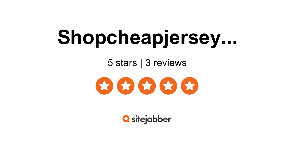 Shop Cheap Jersey.us Reviews - 3 Reviews of Shopcheapjersey.us ...