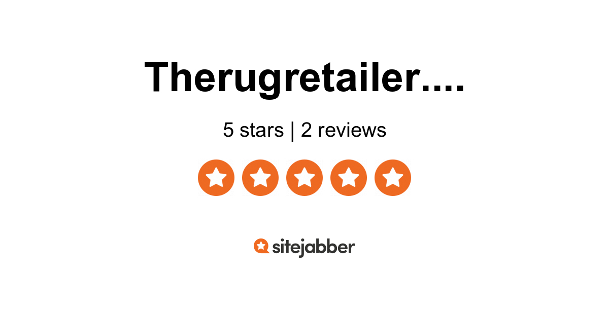 The Rug Retailer Reviews 1 Review Of